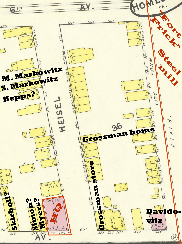 1892 map: strike neighborhood